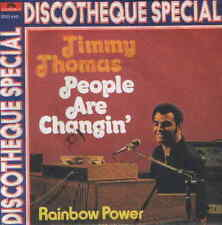 """7"""" Timmy Thomas People Are Changin` / Rainbow Power 70`s Polydor"""
