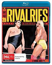WWE -  The Top 25 Rivalries In WWE History (Blu-ray, 2013, 2-Disc Set)NEW SEALED