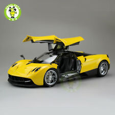 1:18 Pagani Huayra Diecast Supercar Sport Car Model Welly GTAutos 11007 Yellow