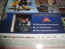 Kingdom Hearts 1.5 + 2.5 ReMIX HD PS3 PlayStation 3 + Limited Edition w/ Pin