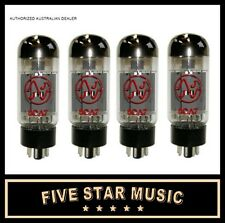 JJ Tesla Electronics 6CA7 Power Amp Valve QUAD - 6CA7 EL34 TYPE TUBE - NEW