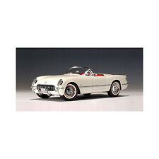 1953 Chevrolet Corvette diecast model car 1:18 die cast by AUTOart Polo White