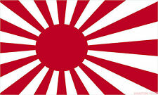 JAPAN SUN RISING FLAG 3X2 feet 90cm x 60cm FLAGS IMPERIAL JAPANESE NAVY