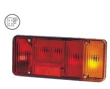 IVECO EUROCARGO & DAILY TIPPER REAR LAMP WITH REVERSE 5 MALE SPADE PINS LH