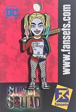 DC Comics Harley Quinn Suicide Squad Licensed FanSets Collectors Pin