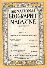 1926 National Geographic November - Russia after the Revolution; Guatemala color