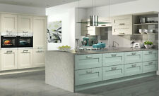 Windsor shaker vinyl wrapped ivory quality replacement kitchen doors all sizes