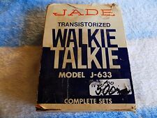 VTG JADE WALKIE TALKIE MODEL J-633 IN ORIGINAL BOX