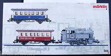 BR  80 030 DRG Fotoanstrich Dampflok + 2 Personenwagen .Märklin Set  5510 Spur 1
