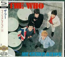 THE WHO MY GENERATION 2011 JAPAN RMST SHM CD +14 - BRAND NEW FACTORY SEALED!