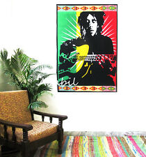 New Bob Marley One Love Tapestry Wall Hanging Throw Poster Flag Cotton Textile A