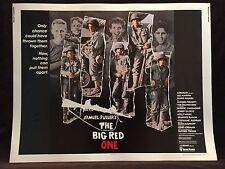 Vintage 1980 THE BIG RED ONE Half Sheet Movie Poster 22 x 28 Robert Carradine