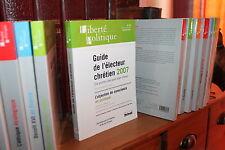 Liberté Politique N° 36 Guide électeur chrétien, Objection de conscience en poli