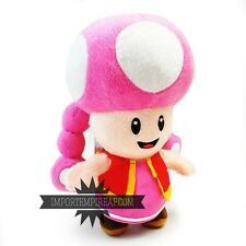 SUPER MARIO BROS. TOADETTE PELUCHE plush toad fungo kart mushroom party Kinopiko