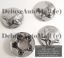 "7 3/4"" WIDE Chrome New Wheel Center Caps for 97 98 99 2000 Ford F150 (Set of 4)"