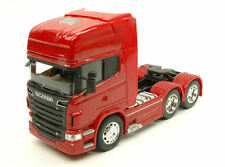 Scania R730 V8 (6x4) Red Truck 1:32 Model WELLY