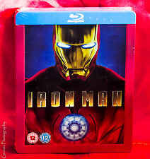 Iron Man - Play.com Blu-ray SteelBook NEW/SEALED Region Free! * Rare