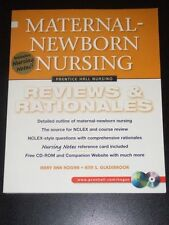 MATERNAL - NEWBORN NURSING Reviews & Rationales Hogan & Glazebrook 2001 NEW