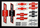 Bow Tie Detail Decals for RC Cars, Late Models, Stock Cars, Dirt Oval, Ford
