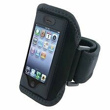 2 X Black Skin Armband Sport Band Case for iPhone 4 4S 3G 3GS iPod Touch 1 2 3 4