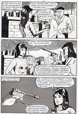 LA LOUVE ET LE PETIT CHIEN (RENAUD) PLANCHE ORIGINALE AREDIT PAGE 46