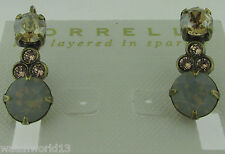 Sorrelli Desert Sun Earrings  ECJ14AGDS antique gold  tone