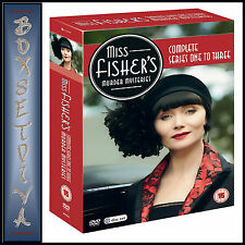MISS FISHERS MURDER MYSTERIES - COMPLETE SERIES 1 2 & 3 *BRAND NEW DVD BOXSET***