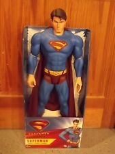 """New 2006 Mattel Superman Returns Poseable 30"""" Inch Action Figure In Box"""