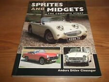 Book. Sprites and Midgets. The Complete Story. Anders Clausager. 2004 Crowood.