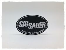 SIG SAUER Sew Iron On Patch Embroidered Firearms Gun Weapons Pistol Logo Jacket