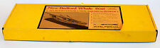 RARE Vintage Model Shipways MS2033 New Bedford Whale Boat Wood Model Kit  NOS