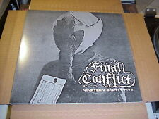 LP:  FINAL CONFLICT - Nineteen Eighty-Five Demo NEW UNPLAYED PUNK KBD