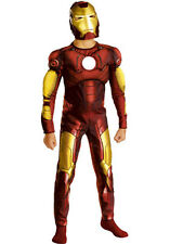 Iron Man Muscle Child Costume-Medium ( Size 7-8 )