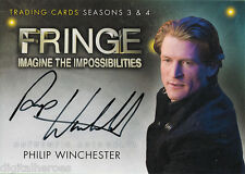 Fringe Seasons Three & Four Autograph Card A15 Philip Winchester Frank Stanton