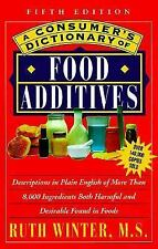 A Consumer's Dictionary of Food Additives: Fifth Edition Over 140-ExLibrary