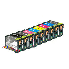 10x Epson Generic T7601-9 pigment ink set for EPSON Surecolor SC- P 600 Printer