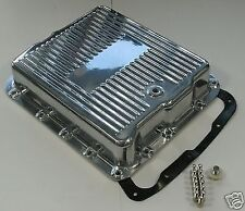 GM TURBO 700R 4 4L60E ALUMINIUM TRANSMISSION PAN POLISHED CHEV DRAG HOTROD GMH