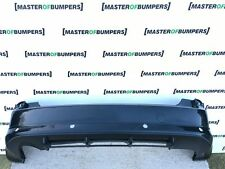 FORD FOCUS C MAX ST ZETEC S 2005-2009 REAR BUMPER IN BLACK [F43]