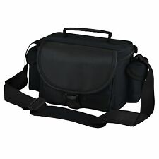AAU Black DSLR Camera Case Bag and Lens Canon EOS 1200D 60D 60Da 1100D 1000D