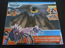 New! MAX STEEL Arachnid Extroyer 2 in 1 INVASION EARTH NTEK 2013 Int'l Ed SEALED