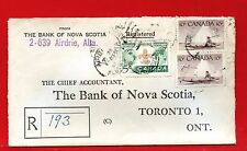 1955 AIRDRIE. ALBERTA Registered  Canada cover