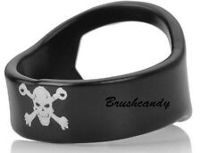 1 pc Stainless Steel Skull Beer Bottle Opener Black Finger Ring Free Ones