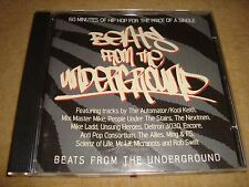 BEATS OF THE UNDERGROUND Sampler KOOL KEITH MIX MASTER MIKE NEXTMEN MIKE LEDD