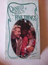 """""""FINE THINGS"""" DANIELLE STEEL, 1990,  TRACY POLLAN, CLORIS LEACHMAN, D.W. MOFFETT"""