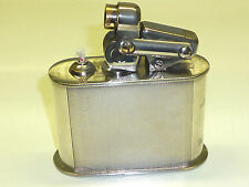 KW (KARL WIEDEN) SEMI-AUTOMATIC TABLE LIGHTER W. 835 SILVER CASE - 1930 -GERMAN
