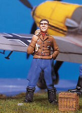 ANDREA MINIATURES SW-02 SKY WARRIOR - GERMAN ACE II - 1/48 WHITE METAL
