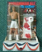 "Vintage 1976 Muhammad Ali ""The Champ"" Mego Action Figure Doll - New in Package!"