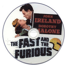 The Fast and the Furious (1955) John Ireland, Dorothy Malone Film/Movie DVD