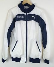 VTG Puma Ford Escort Men's M Windbreaker Jacket Rally Car Terrycloth Lined 44""