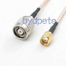 8in RG316 RP-TNC male to SMA male plug RF Cable 20cm for linksys wifi router